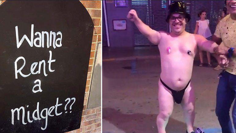 Polémica en el bar: ofrece a un enano en alquiler