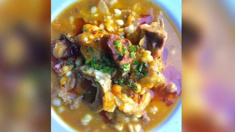 Conocé la exquisita receta del locro por el chef neuquino Walter Sales