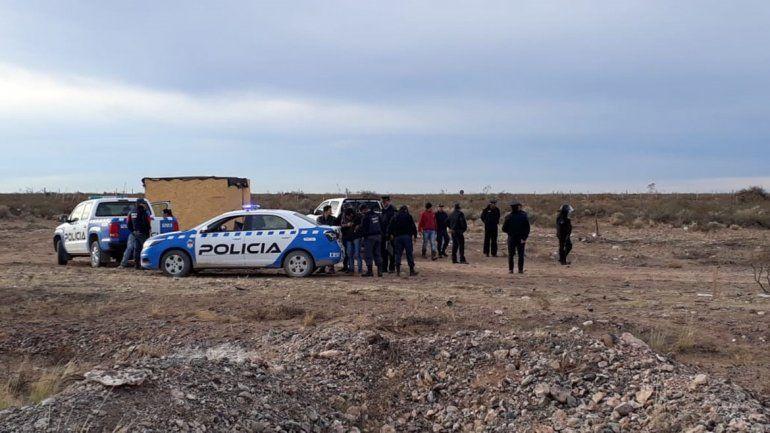 Tensión en intento de toma en la meseta: cuatro detenidos