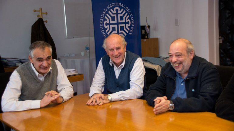 Parrilli y Crisafulli se reunieron para discutir el rol de las universidades del interior en el plano nacional