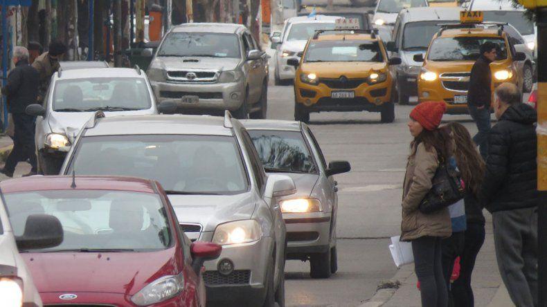 No hay inspectores para evitar el caos del tránsito