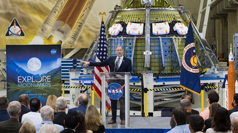 Los astronautas de la NASA volverán a la Luna en 2024