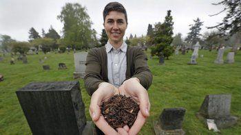 nueva ley: el cadaver se convierte en abono en la capital de los ee.uu.