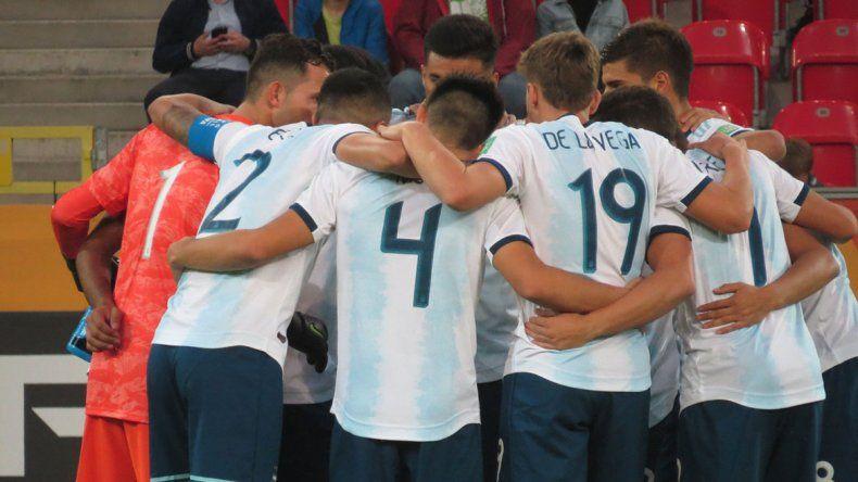 Argentina goleó a Sudáfrica en el debut del Mundial Sub-20
