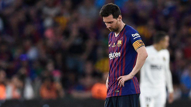 Valencia le dio un nuevo cachetazo al Barcelona en la final de la Copa del Rey