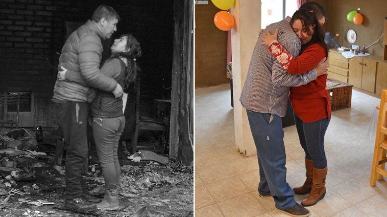 Historia de superación: una casa hecha con los cimientos de la solidaridad