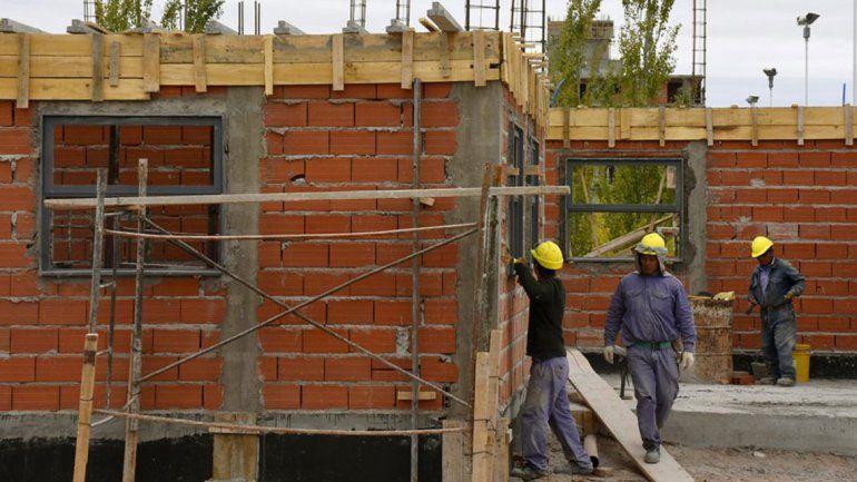 La construcción crea cinco nuevos empleos por día en la provincia