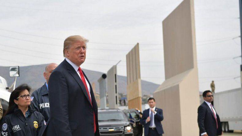 La Justicia puso un freno contra Trump y su muro