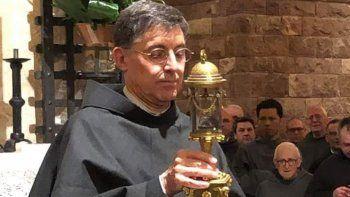 un cura rionegrino es el sucesor de san francisco de asis