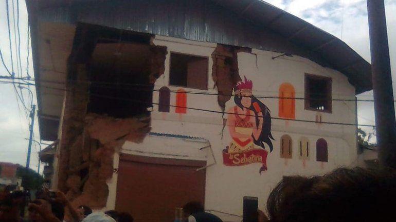 Un muerto y heridos tras un fuerte sismo que sacudió Perú