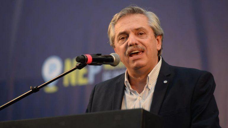 Alberto Fernández: Para bravucón está Pichetto, yo no