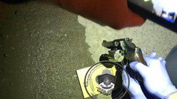 islas malvinas: se resistio a los tiros a un control policial