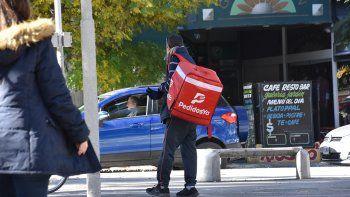 las aplicaciones de delivery reciben 1500 pedidos por semana en la ciudad