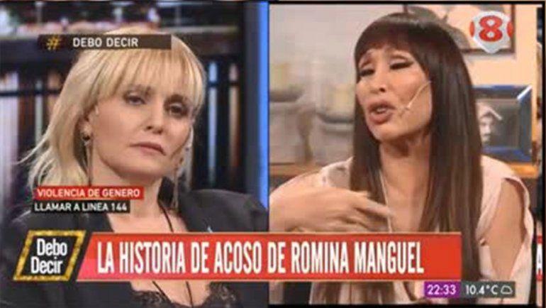 Soreteidad: Moria atacó a Romina Manguel por contar que fue acosada por un funcionario del gobierno