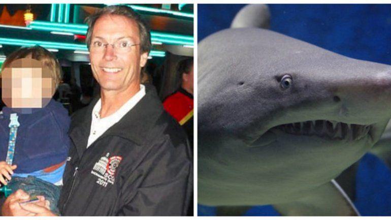 Un tiburón le arrancó una pierna y falleció
