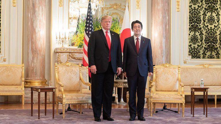 Trump avanzó en las negociaciones con Shinzo Abe