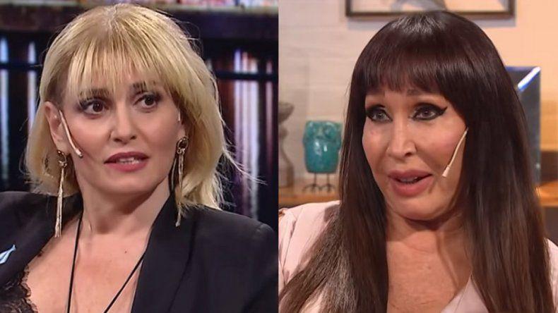 El fuerte cruce entre Romina Manguel y Moria Casán