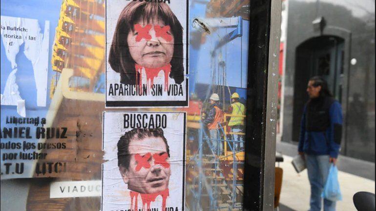 Amenazas de muerte contra Bullrich y Ritondo