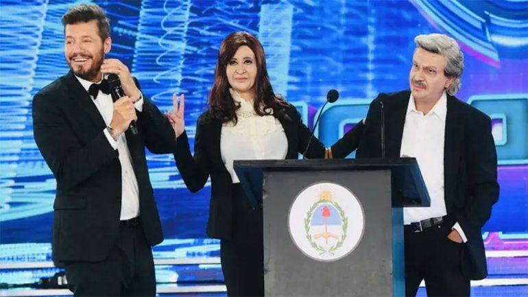 Alberto, Cristina, el rap de la crisis y fútbol patriótico: mirá lo mejor del especial de Showmatch