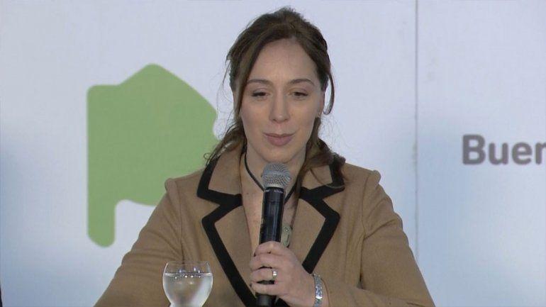 Fin del misterio: Vidal confirmó que no será candidata a presidente
