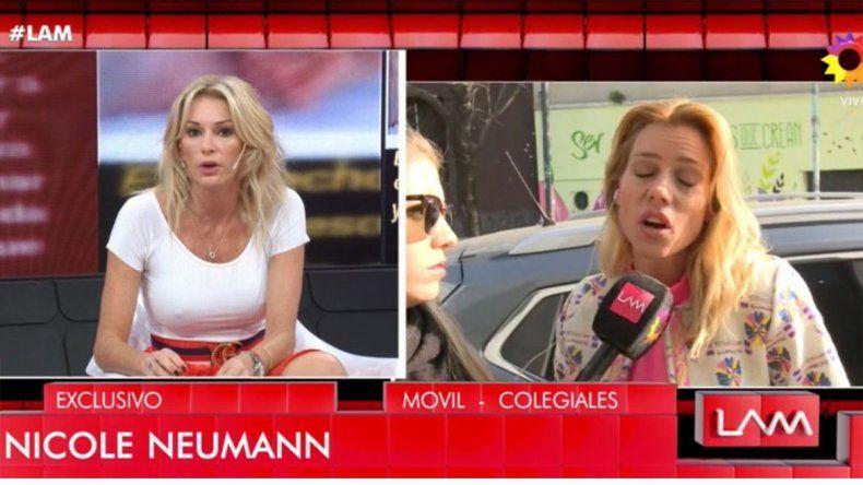 Yanina Latorre insultó a Nicole al aire, mientras se manifestaba en contra del aborto legal