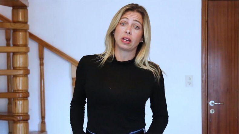 Con un video, contó el infierno que vivió con su ex pareja