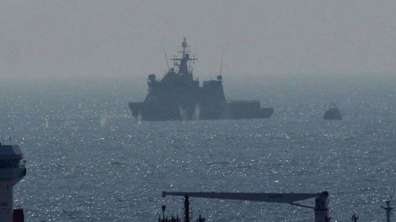 Tensión en Gibraltar por varios disparos británicos