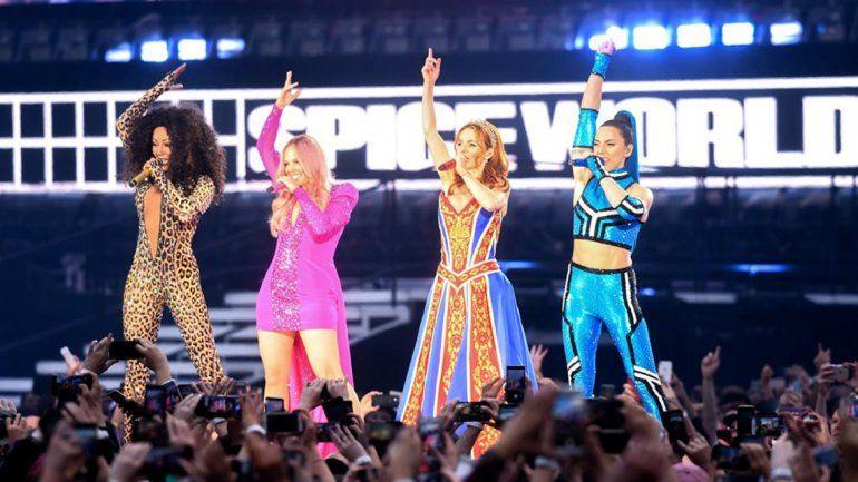 Las Spice Girls fueron criticadas duramente en su regreso
