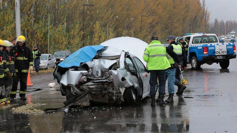 Un muerto en un accidente en Ruta 7 a la altura del Picadero