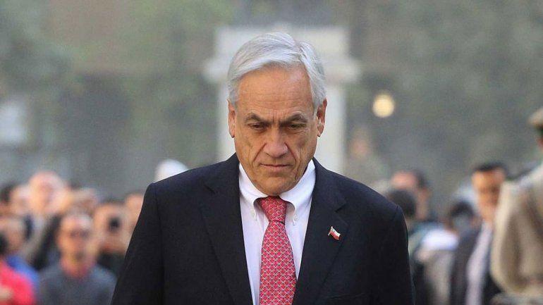 Piñera pierde cada vez más popularidad en Chile