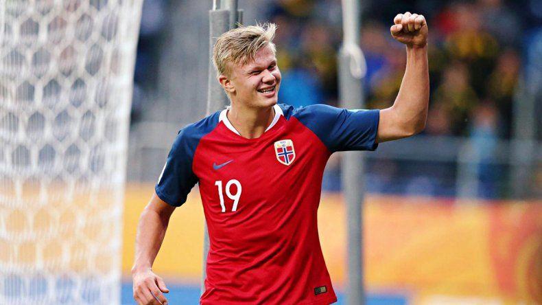 Para la historia: Noruega le ganó 12 a 0 Honduras y su goleador ¡metió 9!