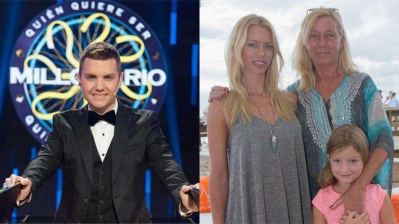 ¿Está arreglado?: La mamá de Nicole Neumann irá hoy a ¿Quién quiere ser millonario?