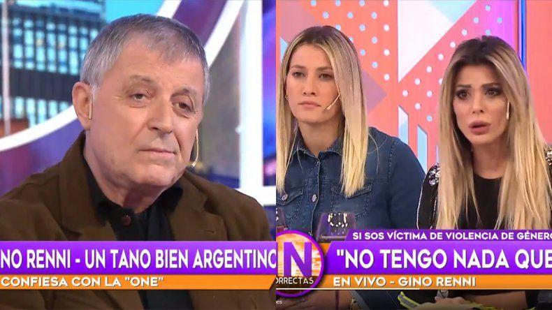Gino Renni confesó que le pegó a una ex pareja y se ganó el odio de las redes