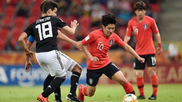 Corea sorprendió a Argentina pero avanzó a la próxima fase