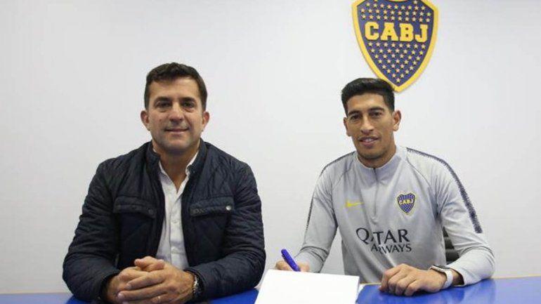 Andrada renovó su contrato con Boca, que lo blindó por $ 25 millones
