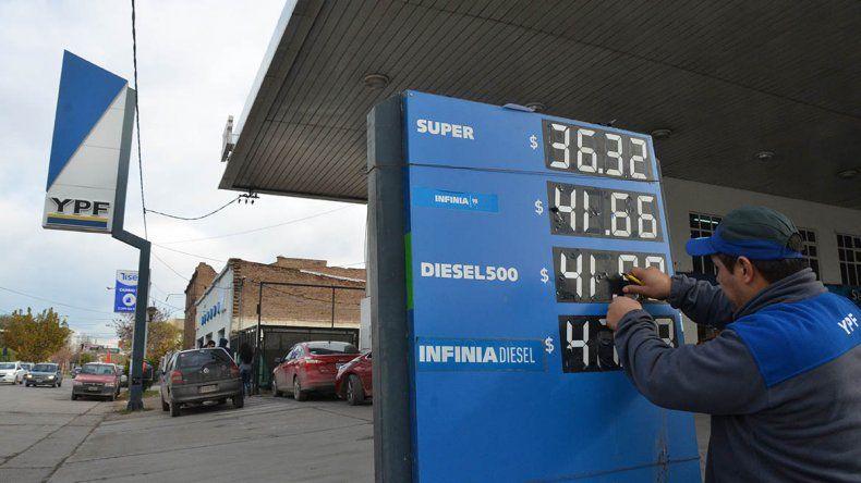 Estos son los nuevos precios de los combustibles en Neuquén