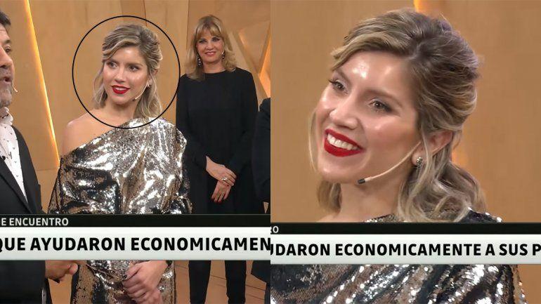 El maquillaje traicionó a Laurita y en las redes criticaron el look que usó en PH