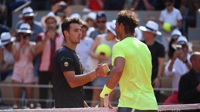 Nadal  le ganó al argentino Londero y obtuvo su victoria 90 en Roland Garros