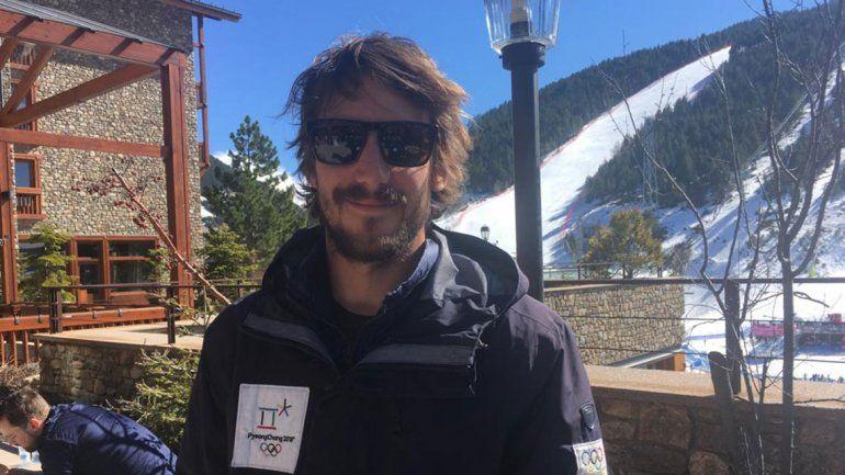 Olímpico neuquino y bombero voluntario, las dos pasiones de Steven Williams