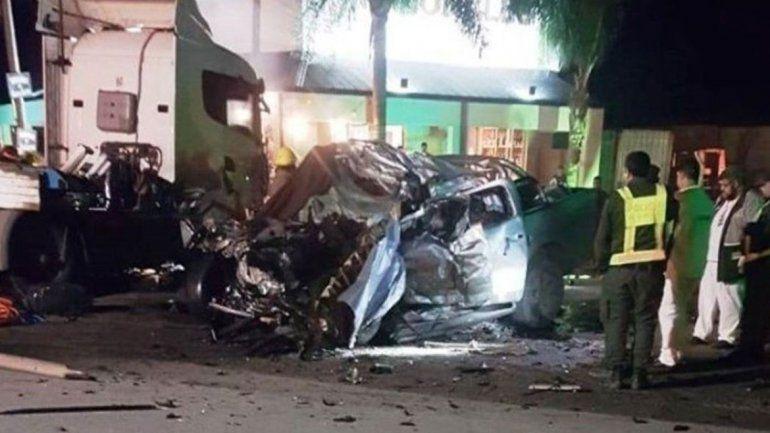 Seis muertos por un choque de un camión y una 4x4
