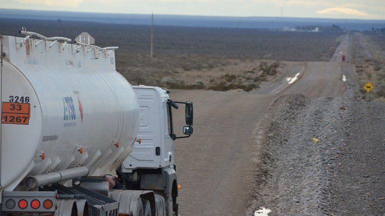 Las obras van en primera por el corredor petrolero