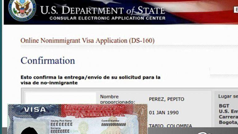 Para sacar la visa habrá que tener limpias las redes