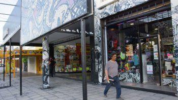 comerciantes reclaman por la falta de policia en el centro