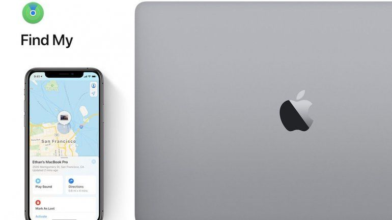 Los iPhone de otras personas cercanas ahora nos dirán dónde está nuestro Mac perdido sin importar que no tenga conexión