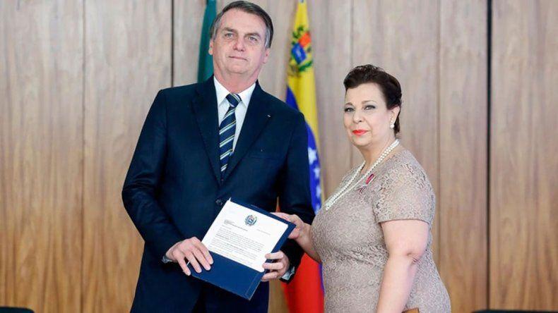 Brasil acepta a la embajadora que envía Guaidó