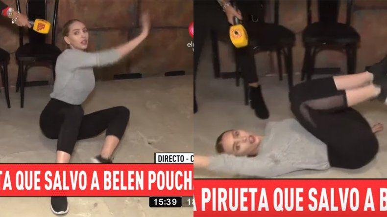 Video: la pirueta de Belén Pouchán con la que logró escapar de tres ladrones