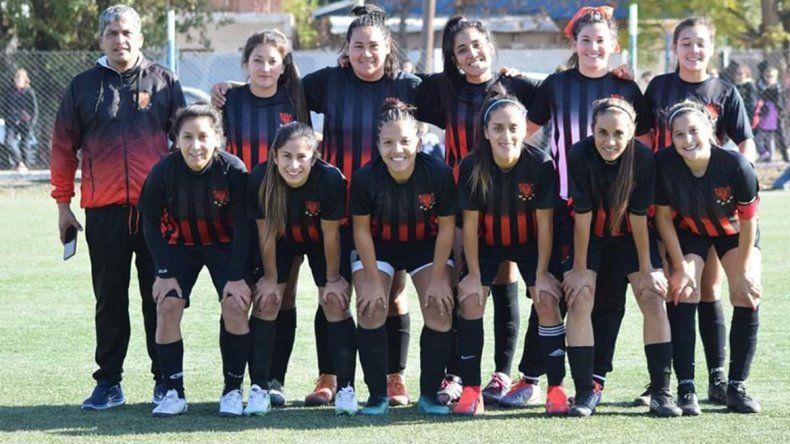 El fútbol femenino toma impulso con la Liga Confluencia