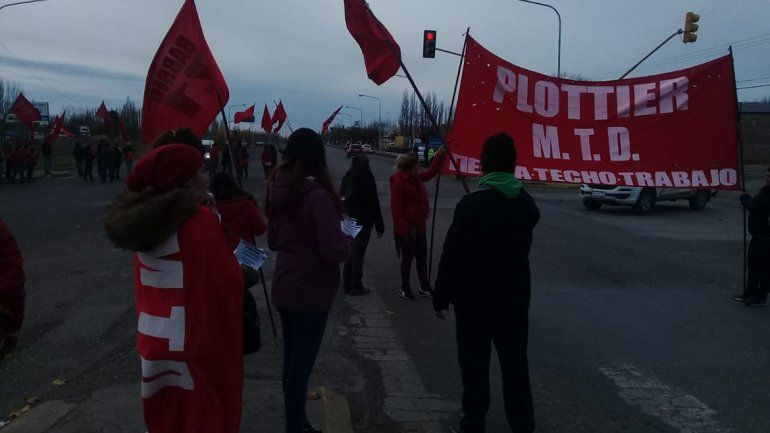 Plottier: El MTD levantó la manifestación en la ruta 22
