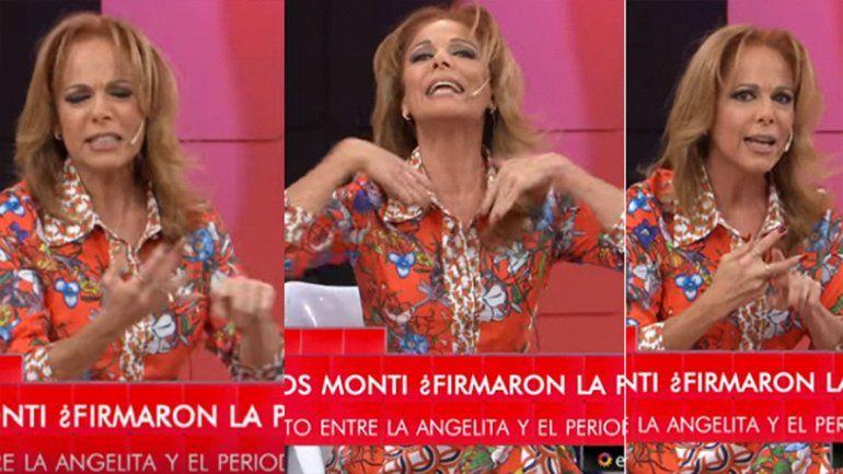 Iliana Calabró explotó en vivo por el Disi-gate: Me importa tres carajos lo que opinen de mí