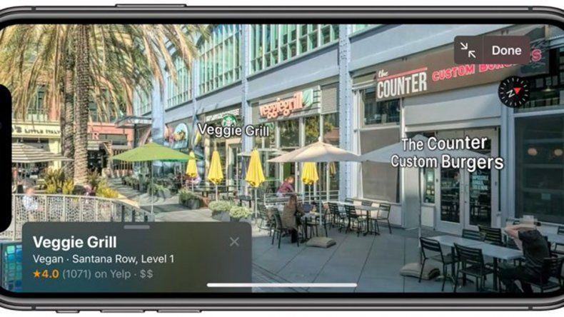 Apple rediseñó su app de mapas